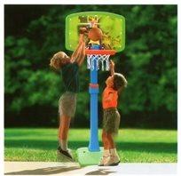 מתקן כדורסל לילדים 5-8 עם מעמד לבית ולחצר