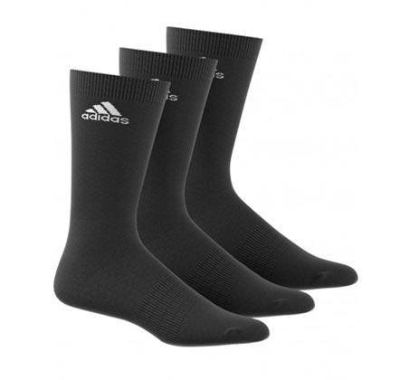 3 זוגות גרבי ספורט ADIDAS דגם AA2330 - שחור