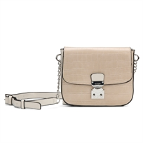 Guess// Clem Mini Crossbody Flap Nude