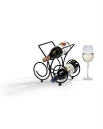 מעמד ליין 3 בקבוקים - Bordeaux - שחור