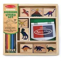 סט חותמות עץ דינוזאורים - Melissa & Doug