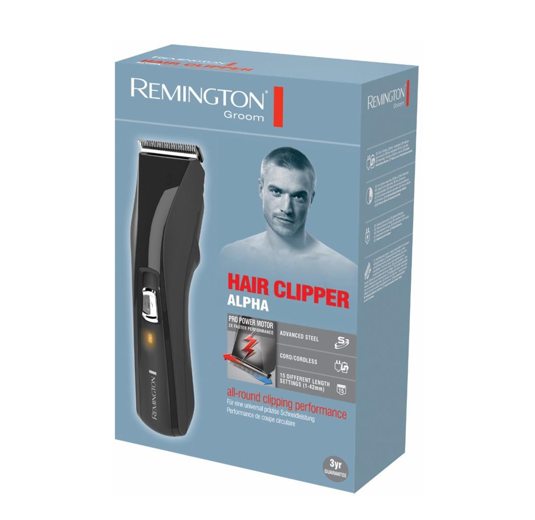 מכונת תספורת Remington נטענת עם סכיני פלדה Alpha דגם HC5150T מתצוגה - תמונה 2