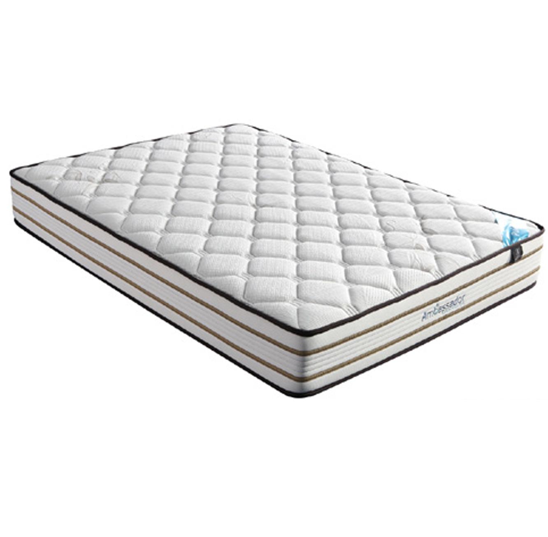 מיטה זוגית מרופדת 160x200 עם שלוש מגירות אחסון דגם טופז HOME DECOR  - תמונה 5