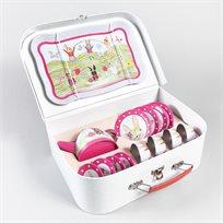 סט תה במזוודה 15 חלקים ארנב