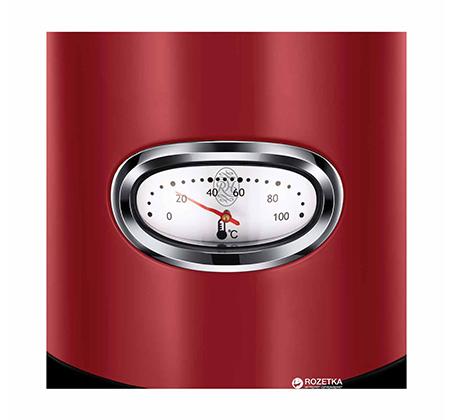 קומקום רטרו אדום מעוצב Russell Hobbs דגם 21670-70T - מתצוגה - תמונה 2