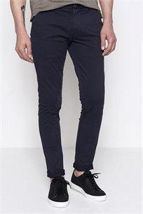 מכנסי בד קזואל לגבר DEVRED בצבע כחול כהה