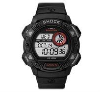 שעון SHOCK לגבר מבית TIMEX עמיד בפני מכות וזעזועים המתאים ליומיום ולתנאי שטח קשים