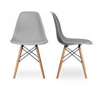 זוג כיסאות קשיחים ונוחים לשימוש בבית ובמשרד דגם לונדון Homax