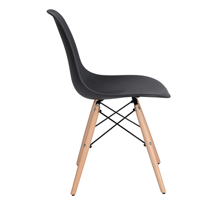 זוג כיסאות קשיחים ונוחים לשימוש בבית ובמשרד דגם לונדון Homax - תמונה 4