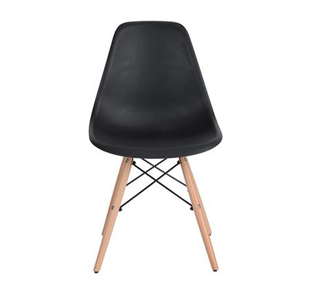 זוג כיסאות קשיחים ונוחים לשימוש בבית ובמשרד דגם לונדון Homax - תמונה 3
