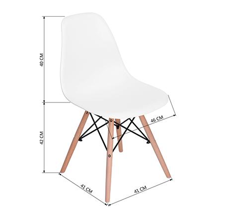 זוג כיסאות קשיחים ונוחים לשימוש בבית ובמשרד דגם לונדון Homax - תמונה 9
