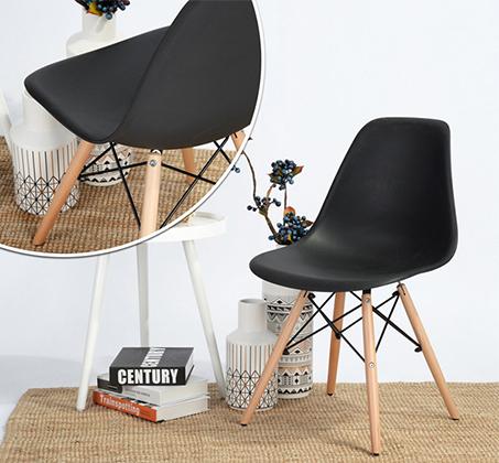 זוג כיסאות קשיחים ונוחים לשימוש בבית ובמשרד דגם לונדון Homax - תמונה 5