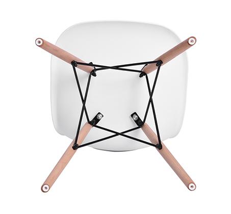 זוג כיסאות קשיחים ונוחים לשימוש בבית ובמשרד דגם לונדון Homax - תמונה 8