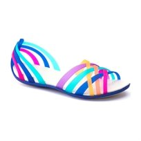 Crocs Huarache Flat - סנדל נשים אופנתי בצבע מולטי
