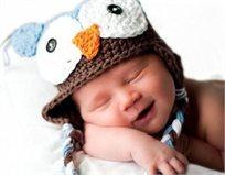 גם הזאטוטים רוצים להתפנק בחורף! כובע צמר סרוג בעבודת יד בעיצוב מתוק של ינשוף!