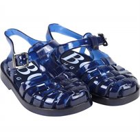 BOSS בוס סנדלים גומי(27-19) -  כחול כהה