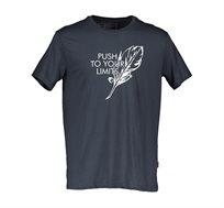 חולצת טי שירט Offset לגברים - צבע לבחירה