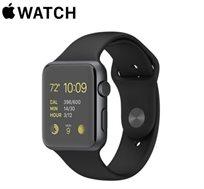 שעון יד חכם Apple Watch Sport עם מסך בגודל 42mm בטכנולוגיית Retina  - משלוח חינם!