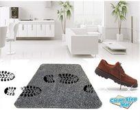 שטיח חדשני עשוי מסיביי מיקרו פייבר המסירים 95% מטביעות הנעלים וסימני דריכה מהרצפות