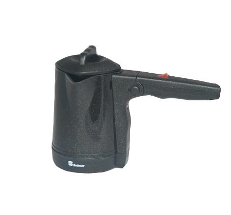 פינג'אן חשמלי עם ידית מתקפלת Selmor דגם SE-112 - צבע: שחור;