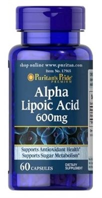 Puritan's Alpha Lipoic Acid 600 Mg