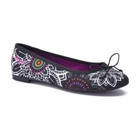 Desigual Shoes Missia 1 - נעלי בובה בשילוב הדפס