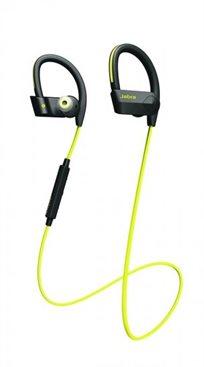 אוזניות ספורט Jabra Sport Pace Yellow  + נרתיק ריצה לזרוע Belkin מתנה