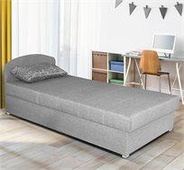 מיטת יחיד עם ראש מתכוונן וארגז מצעים HOME DECOR