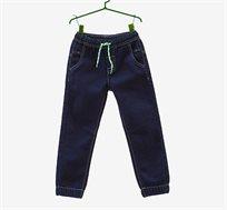 מכנס במראה ג'ינס עם שרוך לילדים בצבע דנים