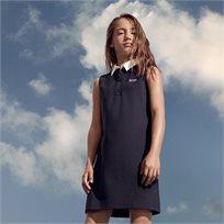 BOSS בוס שמלה (4-16 שנים) - פולו כחולה
