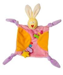 שמיכי ארנב משולב עם בובת אצבע