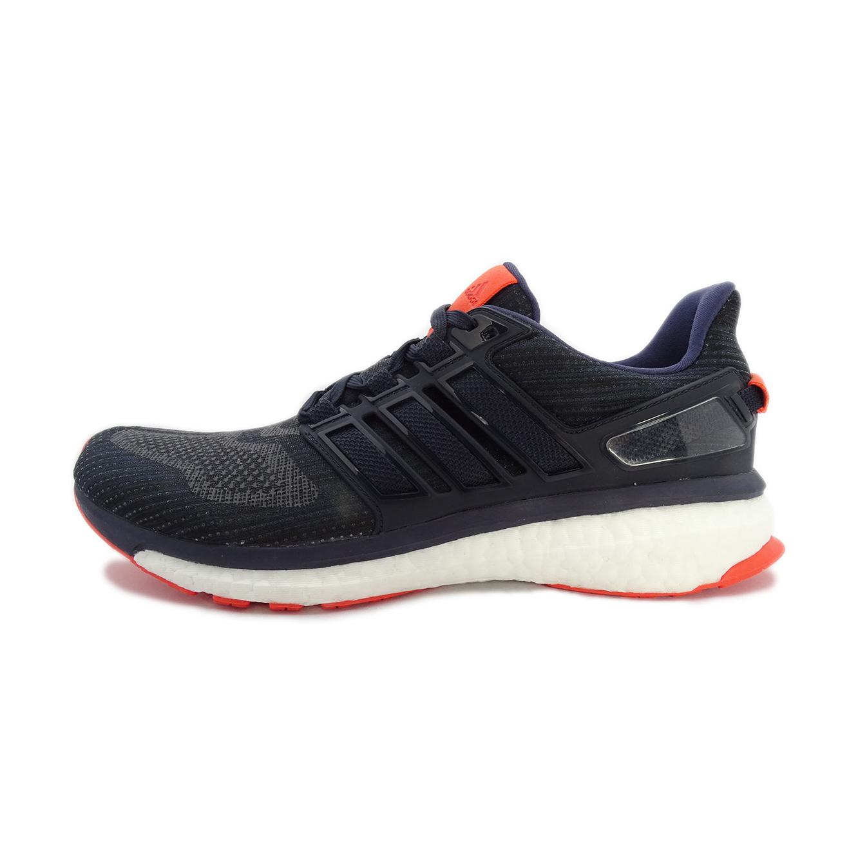 נעלי ריצה לגברים ADIDAS MENS ENERGY BOOST 3 BB5786 - כחול/כתום