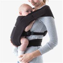 מנשא בד לתינוק אמברייס Embrace עם 3 תנוחות נשיאה - שחור