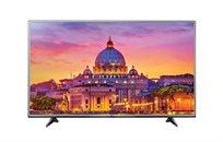 """טלוויזיה LG מסך """"65 Smart TV LED ברזולוציית 4K עם פאנל IPS  דגם 65UH617Y"""