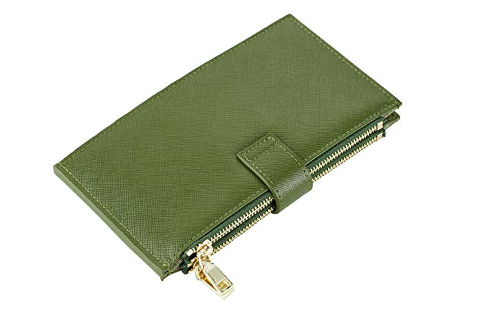 Lambo Wallet Multi Card Case Army Green