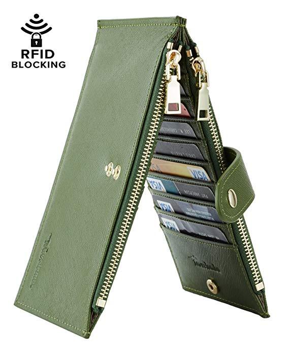 Lambo Wallet Multi Card Case Army Green - תמונה 2