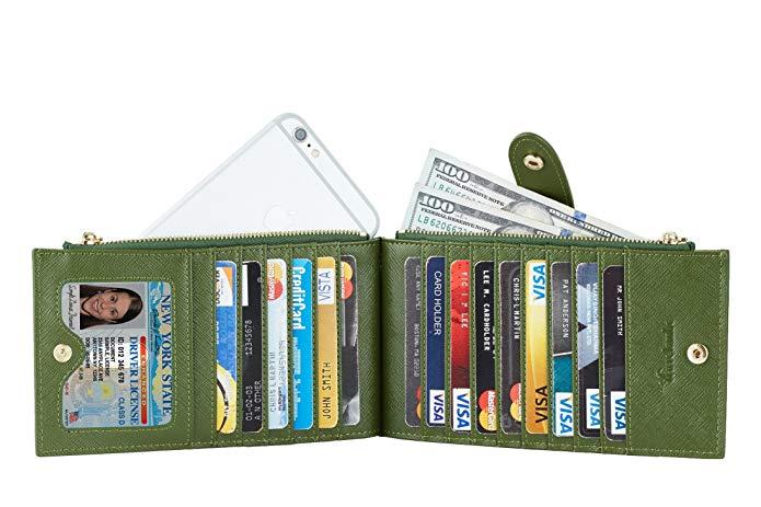 Lambo Wallet Multi Card Case Army Green - תמונה 4