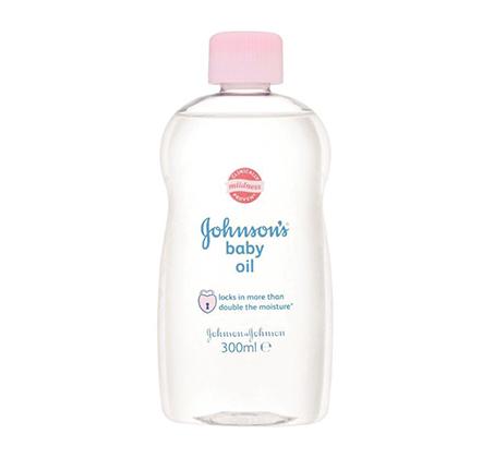 """3 יחידות שמן תינוקות 300 מ""""ל Johnson's"""