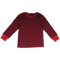 Ralph Lauren / ראלף לורן (4 שנים) חולצת פיקה פסים - כחול אדום