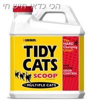 סופרחול מתגבש לחתול טיידי קט אדום 6 ק''ג Tidy Cat