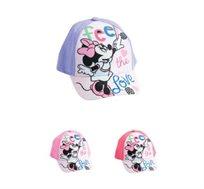 2 כובעי בייסבול מיני מאוס לילדות - דגם לבחירה