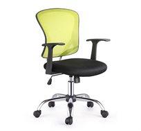 כסא משרדי מתכוונן מבד במגוון צבעים לבחירה