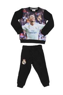 Real Madrid ילדים// סט פוטר רונאלדו שחור