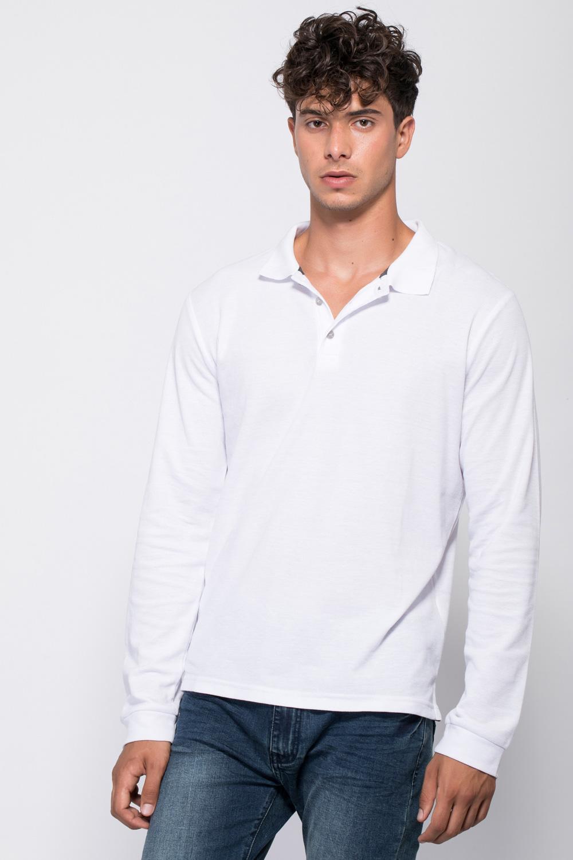 חולצת פולו פיקה שרוול ארוך
