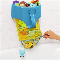 סל צעצועים /ארגונית לאמבטיה עם רוכסן פתיחה