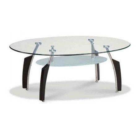 האחרון שולחן סלון עשוי זכוכית מחוסמת בעיצוב עכשווי דגם לאציו Homax AQ-05