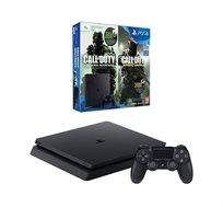קונסולה PlayStation 4 SLIM בנפח 1TB כולל 2 בקרים
