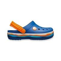 Crocs Crocband Wavy Band Clog K - כפכף קרוקבנד כחול בעיצוב גל