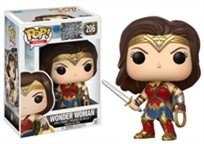 Funko Pop - Wonder Woman (Justic League) 206 בובת פופ וונדר וומן ליגת הצדק