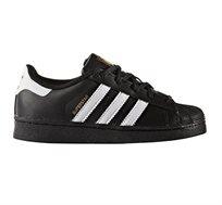 נעליים לילדים ADIDAS ORIGINAL SUPERSTAR BA8379 בצבע שחור